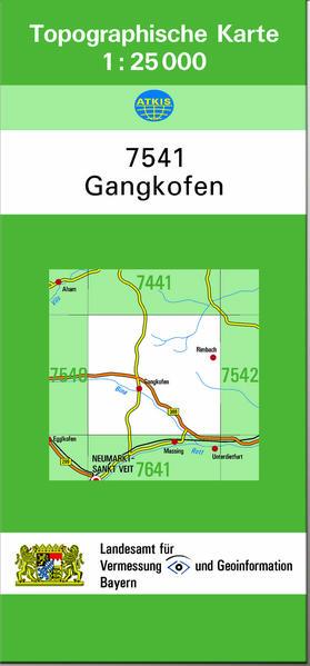 TK25 7541 Gangkofen - Coverbild