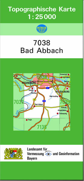TK25 7038 Bad Abbach - Coverbild