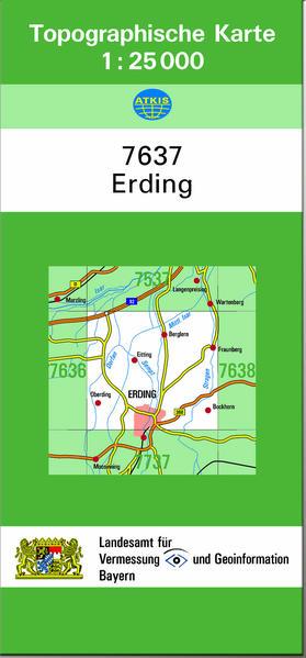 TK25 7637 Erding - Coverbild