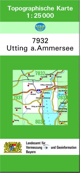 TK25 7932 Utting a.Ammersee - Coverbild
