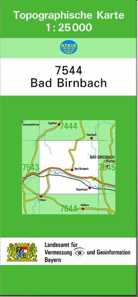 TK25 7544 Bad Birnbach - Coverbild