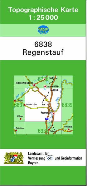TK25 6838 Regenstauf - Coverbild