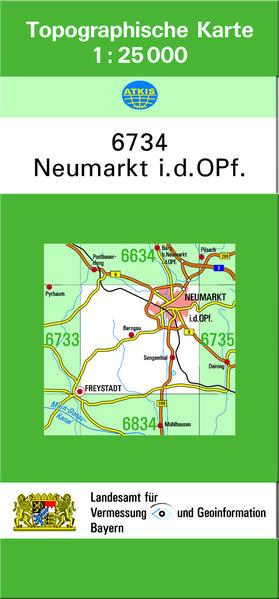 TK25 6734 Neumarkt i.d.OPf - Coverbild