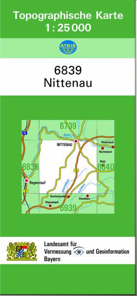 TK25 6839 Nittenau - Coverbild