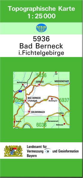TK25 5936 Bad Berneck i.Fichtelgebirge - Coverbild