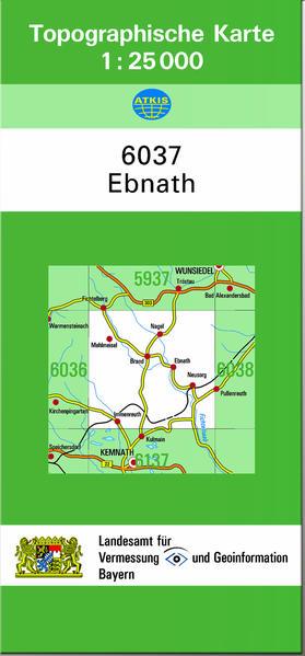 TK25 6037 Ebnath - Coverbild