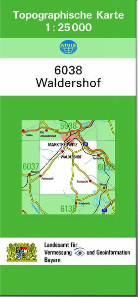 TK25 6038 Waldershof - Coverbild