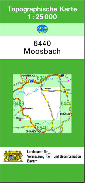 TK25 6440 Moosbach - Coverbild