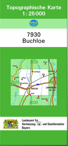 TK25 7930 Buchloe - Coverbild
