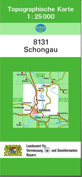 TK25 8131 Schongau - Coverbild