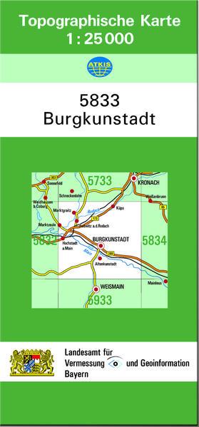 TK25 5833 Burgkunstadt - Coverbild