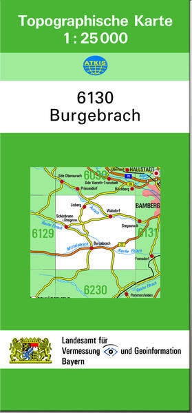TK25 6130 Burgebrach - Coverbild