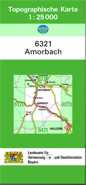 TK25 6321 Amorbach - Coverbild