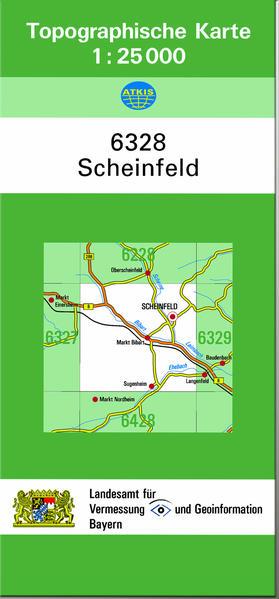 TK25 6328 Scheinfeld - Coverbild