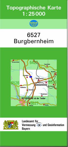 TK25 6527 Burgbernheim - Coverbild