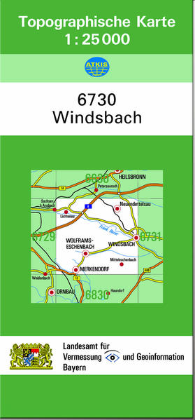 TK25 6730 Windsbach - Coverbild