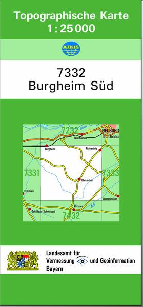 TK25 7332 Burgheim Süd - Coverbild