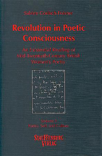 Revolution in Poetic Consciousness. An Existential Reading of Mid-Twentieth-Century... / Revolution in Poetic Consciousness. An Existential Reading of Mid-Twentieth-Century... - Coverbild