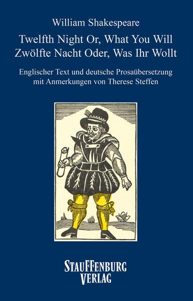 William Shakespeare - Twelfth Night Or, What You Will /Zwölfte Nacht Oder, Was Ihr Wollt - Coverbild