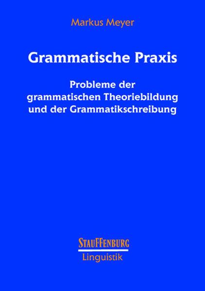 Grammatische Praxis - Coverbild
