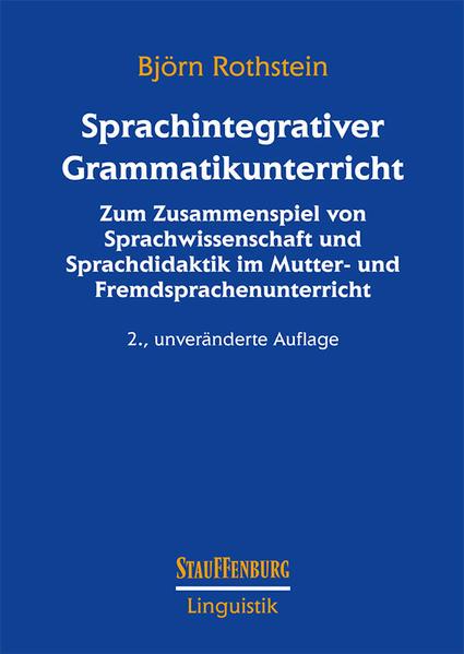 Sprachintegrativer Grammatikunterricht - Coverbild