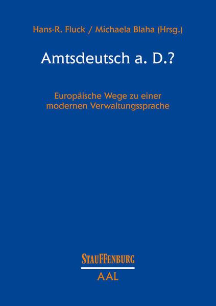 Amtsdeutsch a. D.? - Coverbild