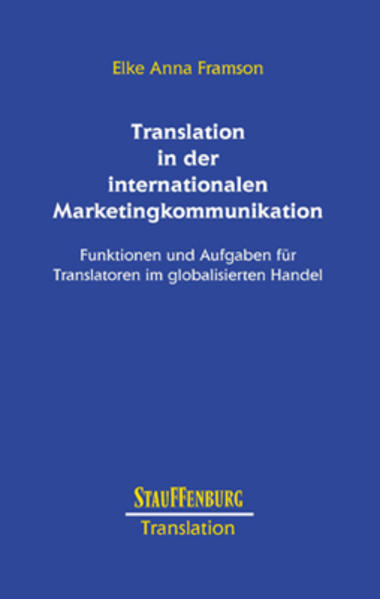 Translation in der internationalen Marketingkommunikation - Coverbild