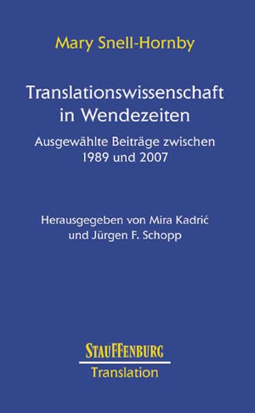 Translationswissenschaft in Wendezeiten - Coverbild