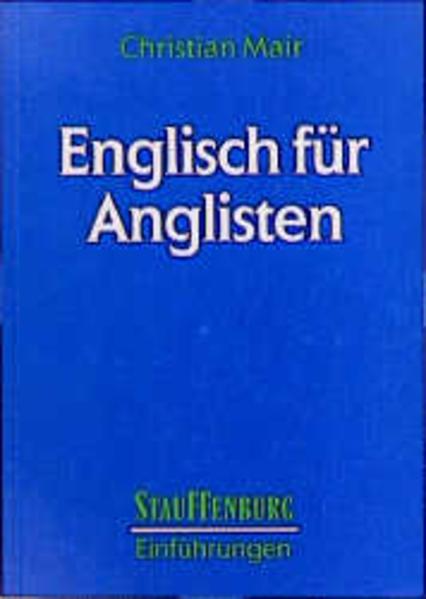 Englisch für Anglisten - Coverbild