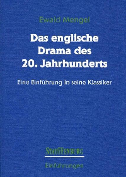 Das englische Drama des 20. Jahrhunderts - Coverbild