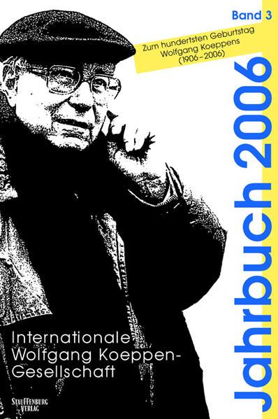 Jahrbuch der Internationalen Wolfgang-Koeppen-Gesellschaft / Jahrbuch der Internationalen Wolfgang-Koeppen-Gesellschaft - Coverbild