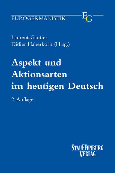 Aspekt und Aktionsarten im heutigen Deutsch - Coverbild