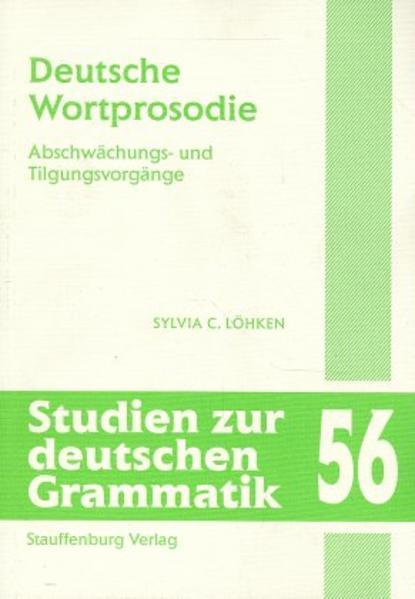 Deutsche Wortprosodie - Coverbild