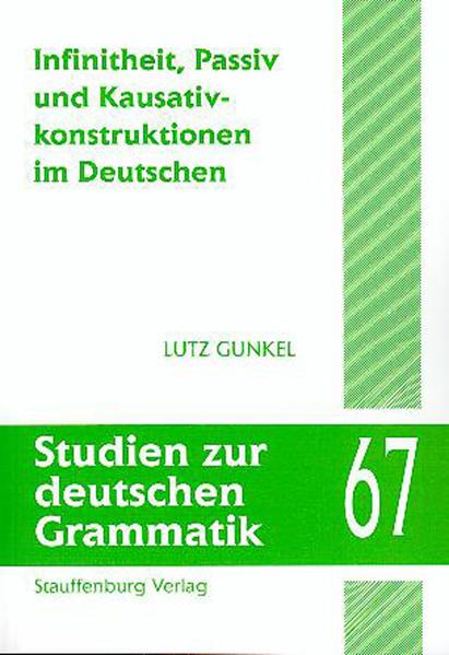 Infinitheit, Passiv und Kausativkonstruktionen im Deutschen - Coverbild