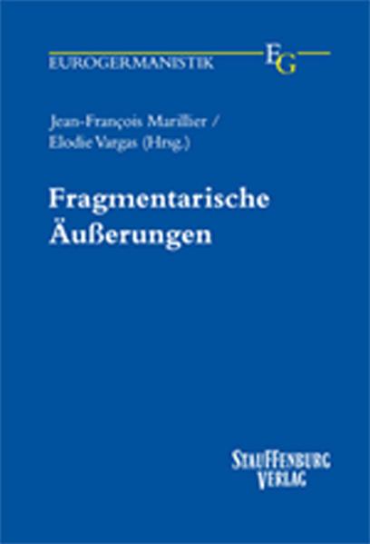 Fragmentarische Äußerungen - Coverbild