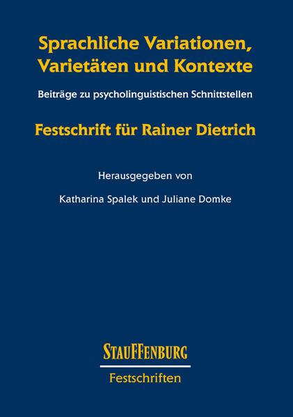Sprachliche Variationen, Varietäten und Kontexte - Coverbild
