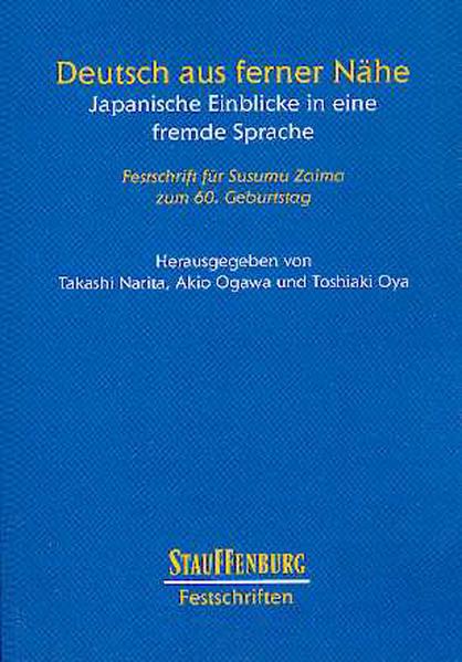Deutsch aus ferner Nähe - Coverbild