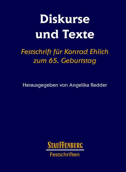 Diskurse und Texte - Coverbild
