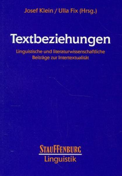 Textbeziehungen - Coverbild