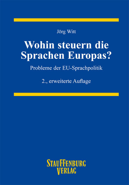 Wohin steuern die Sprachen Europas? - Coverbild