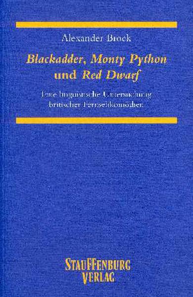 Blackadder, Monty Python und Red Dwarf - Coverbild