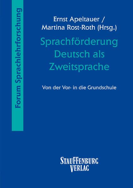 Sprachförderung Deutsch als Zweitsprache - Coverbild