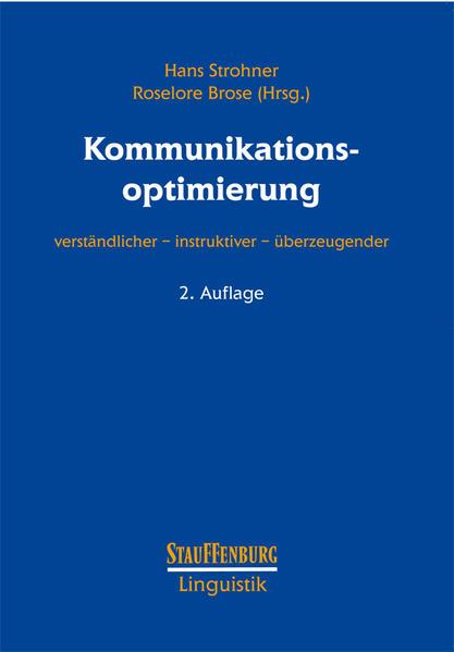 Kommunikationsoptimierung - Coverbild