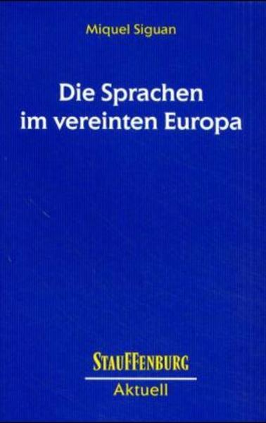 Die Sprachen im vereinten Europa - Coverbild