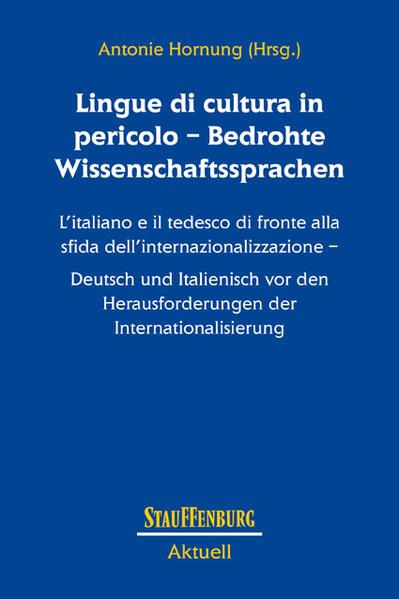 Lingue di cultura in pericolo – Bedrohte Wissenschaftssprachen - Coverbild