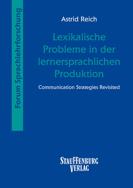 Lexikalische Probleme in der lernersprachlichen Produktion - Coverbild