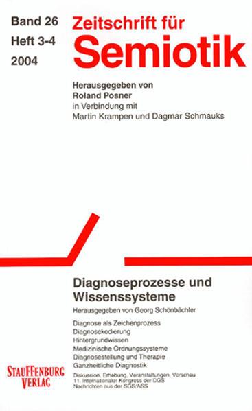 Zeitschrift für Semiotik / Diagnoseprozesse und Wissenssysteme - Coverbild