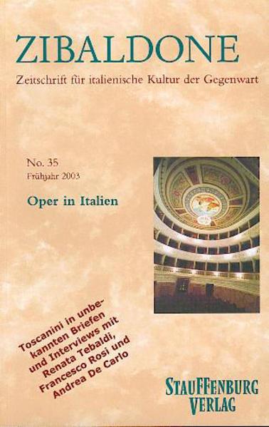 Oper in Italien - Coverbild