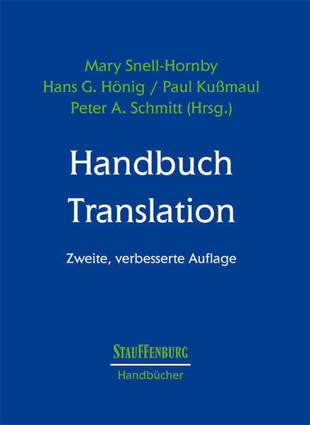 Handbuch Translation - Coverbild