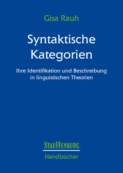 Syntaktische Kategorien - Coverbild